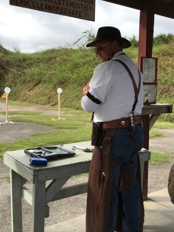 Brian Conley shooting cowboy!